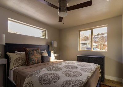 bedroom in unit at hayden village townhomes